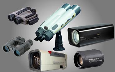 Zoom lensler, dürbünler, termal dürbünler, gece görüş cihazları